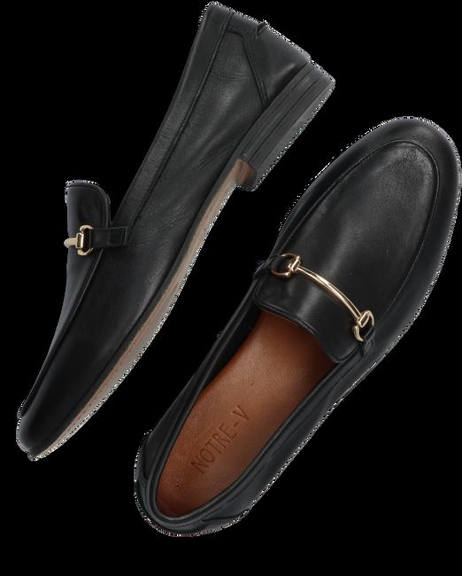 Zwarte NOTRE-V Loafer 483017 - large