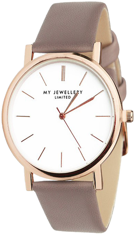 Taupe MY JEWELLERY Horloge MY JEWELLERY LIMITED WATCH