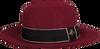 Rode ROMANO SHAWLS AMSTERDAM Hoed HAT RIBBON  - small