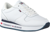 Witte TOMMY HILFIGER Lage sneakers FLATFORM RUNNER  - small