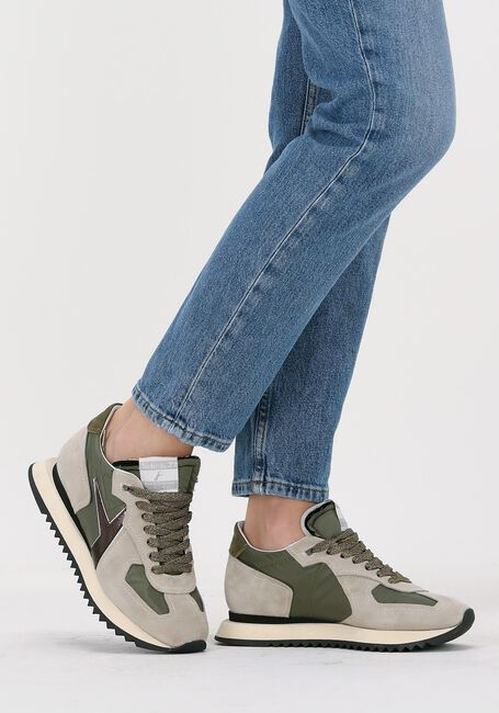 Groene ARCHIVIO 22 Hoge sneaker 430  - large
