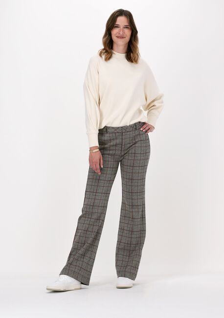 Bruine SUMMUM Pantalon TROUSER CHECK JACQUARD  - large