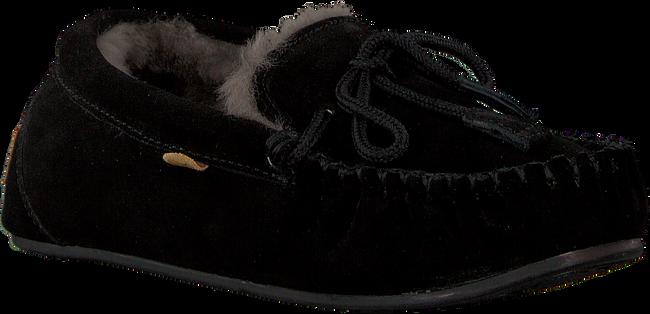 Zwarte WARMBAT Pantoffels FJORDA WOMEN SUEDE - large