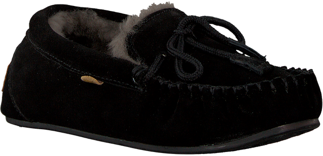 Zwarte WARMBAT Pantoffels FJORDA - large