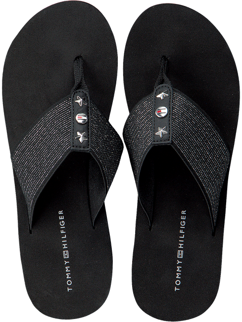 TOMMY HILFIGER SLIPPERS ELEVATED METALLIC BEACH SANDAL - large