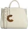 Witte COCCINELLE Handtas CONCRETE MEDIUM - small