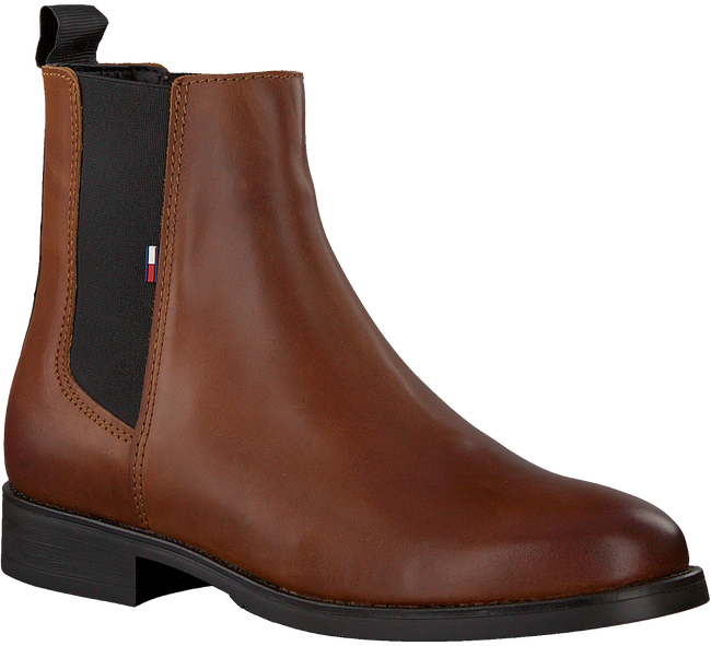 Cognac TOMMY HILFIGER Chelsea boots ESSENTIAL DRESSED  - large