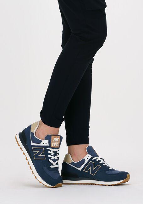 Blauwe NEW BALANCE Lage sneakers WL574  - large