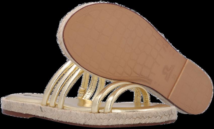 Gouden FRED DE LA BRETONIERE Slippers 154010004 - larger