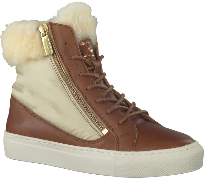Bruine GANT Sneakers OLIVIA - large