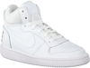 Witte NIKE Sneakers COURT BOROUGH MID (GS)  - small