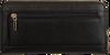 Zwarte GUESS Portemonnee OPEN ROAD SLG   - small