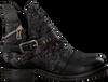 Zwarte A.S.98 Biker boots 207202 - small