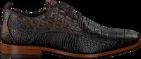 Bruine REHAB Nette schoenen GREG CROCO VERNIZ  - medium
