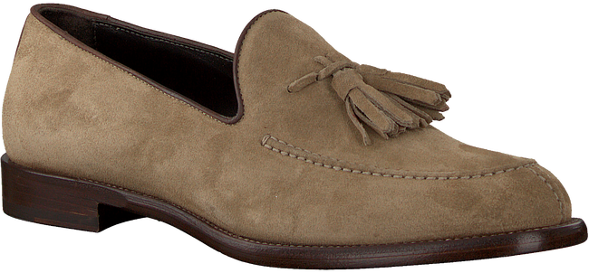 Taupe MAZZELTOV Loafers 9524  - large
