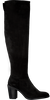 Zwarte RED-RAG Overknee laarzen 77132  - small