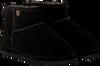 Zwarte WARMBAT Pantoffels WALLABY WOMEN SUEDE - small