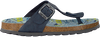 blauwe BRAQEEZ Slippers 418070  - small
