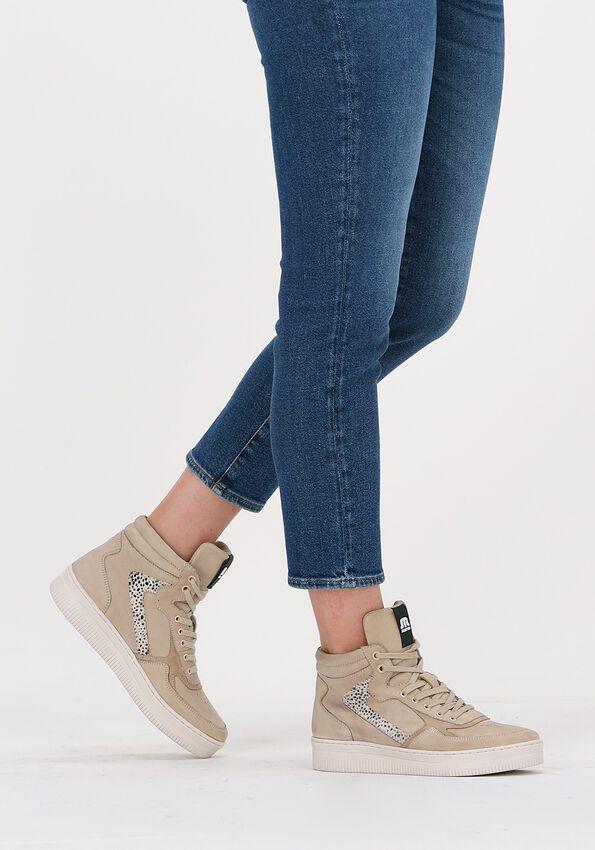Beige MARUTI Hoge sneaker MONA  - larger