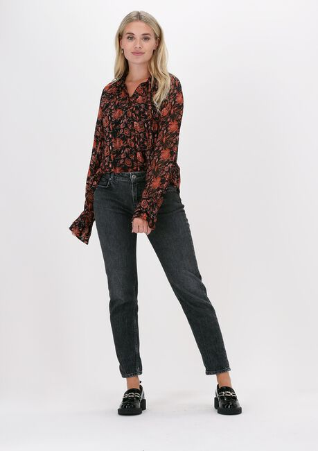 Multi SCOTCH & SODA Blouse PRINTED SHEER RECYCLED POLYEST  - large