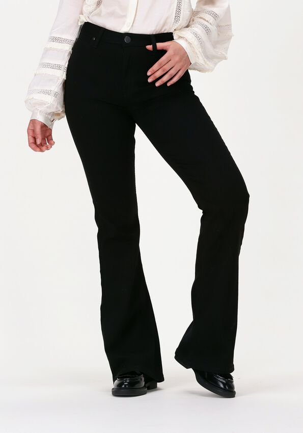 Zwarte LEE Flared jeans BREESE FLARE  - larger