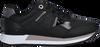 Zwarte TOMMY HILFIGER Lage sneakers TH INTERLOCK CITY  - small