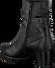 Zwarte GABOR Enkellaarsjes 653 - small