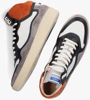 Oranje FLORIS VAN BOMMEL Hoge sneaker 20371  - medium