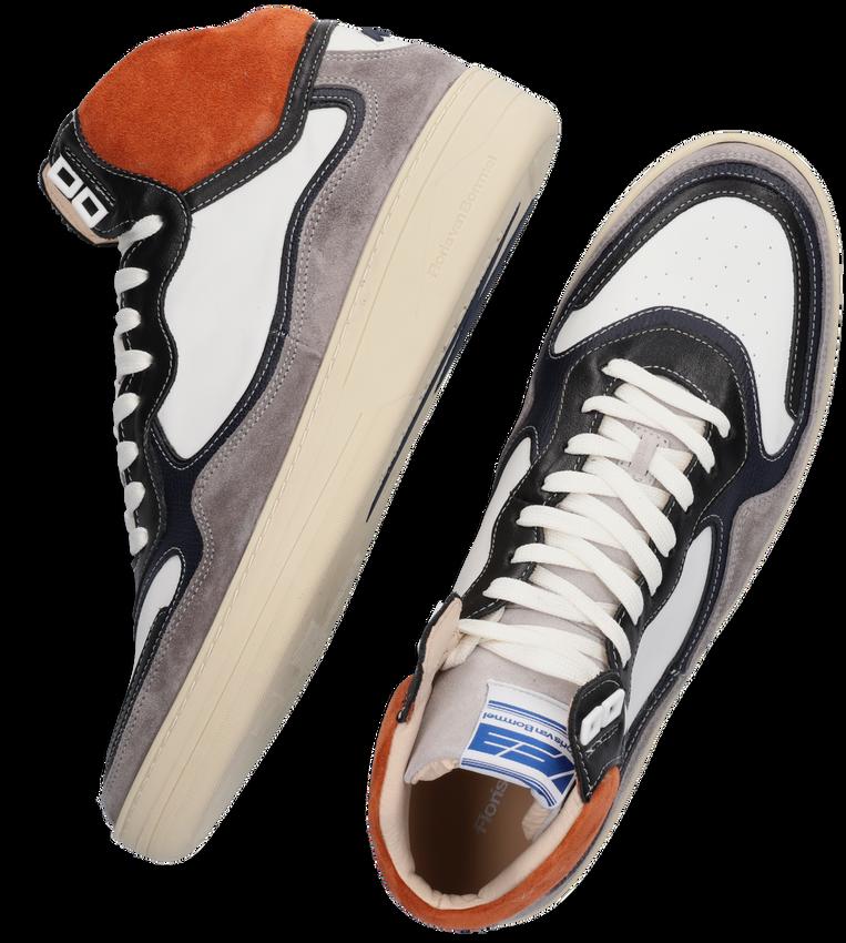 Oranje FLORIS VAN BOMMEL Hoge sneaker 20371  - larger