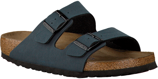 Blauwe BIRKENSTOCK PAPILLIO Slippers ARIZONA HEREN  - large