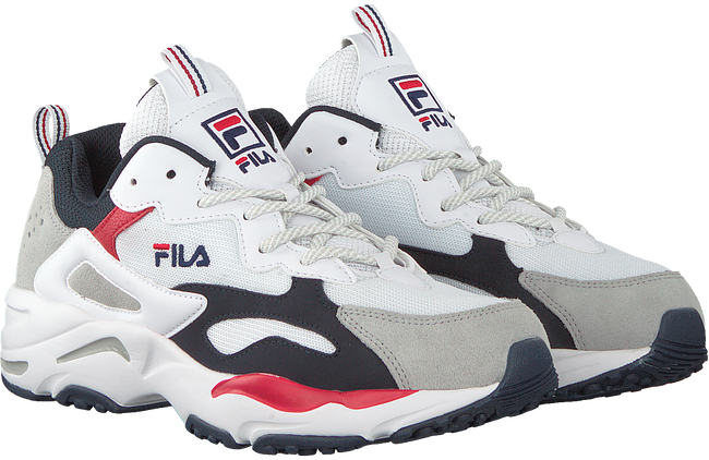 Witte FILA Sneakers RAY TRACER MEN  - large