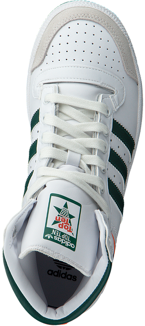 Witte ADIDAS Sneakers TOP TEN HI J  - large