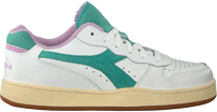 Witte DIADORA Lage sneakers MI BASKET LOW USED WN  - medium