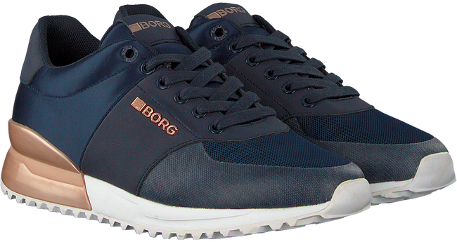 Blauwe BJORN BORG Sneakers R200 LOW SAT - large