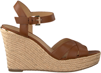 Cognac MICHAEL KORS Sandalen SUZETTE WEDGE  - medium