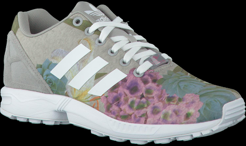a598f41b295 Grijze ADIDAS Sneakers ZX FLUX DAMES - Omoda.nl