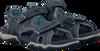 Blauwe TIMBERLAND Sandalen PARK HOPPER L/F 2 STRAP KIDS  - small