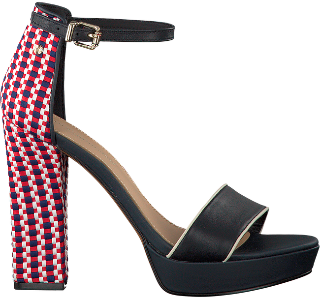 TOMMY HILFIGER SANDALEN CORPORATE INTERWOVEN HIGH HEEL - large