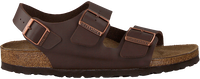 Bruine BIRKENSTOCK Slippers MILANO HEREN - medium