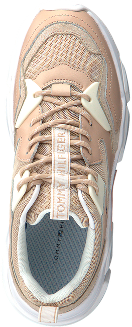 Roze TOMMY HILFIGER Lage sneakers CHUNKY LIFESTYLE GLITTER  - large