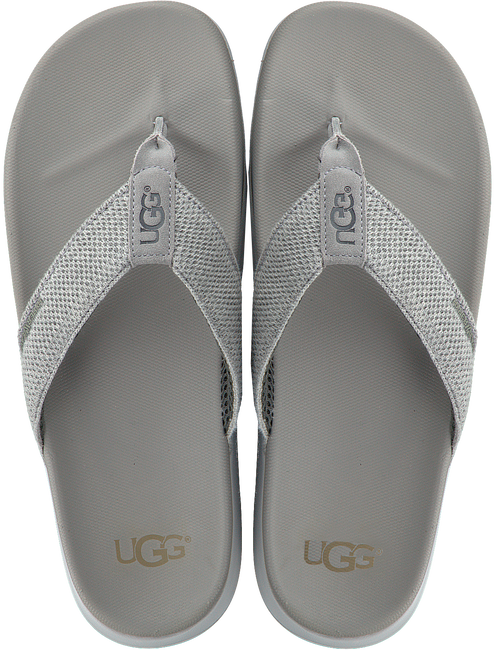 grijze UGG Slippers TENOCH HYPERWEAVE  - large