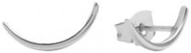 Zilveren ATLITW STUDIO Oorbellen PARADE EARRINGS LONG MOON - large