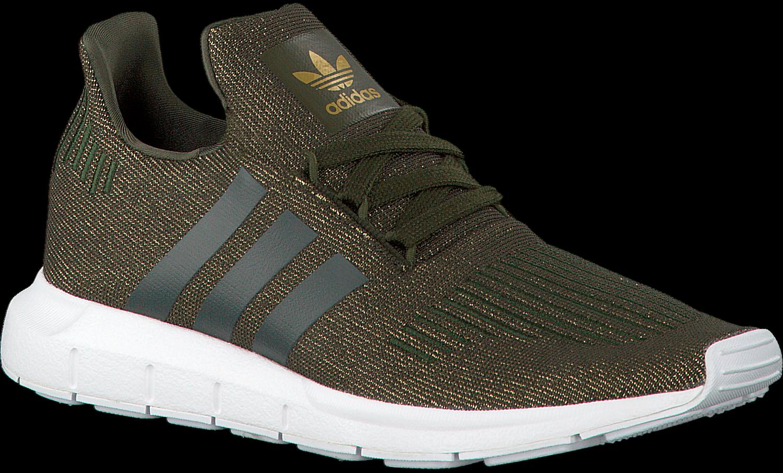 7036d48f7ec Groene ADIDAS Sneakers SWIFT RUN DAMES - large. Next