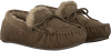 Groene WARMBAT Pantoffels FJORDA WOMEN SUEDE - small