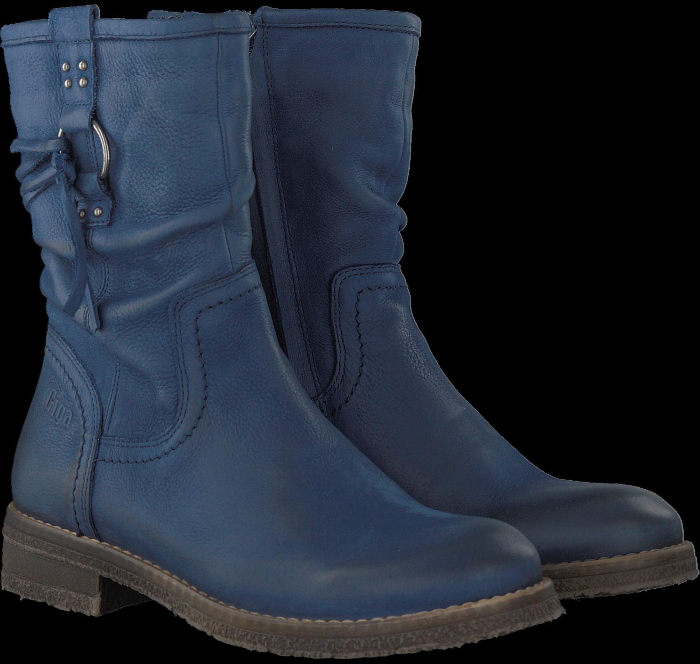 Blauwe GIGA Lange laarzen 5634 | Omoda