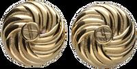 Gouden NOTRE-V Oorbellen OORBEL KNOT