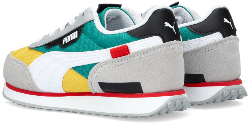 Gele PUMA Lage sneakers FUTURE RIDER PLAY ON PS  - larger
