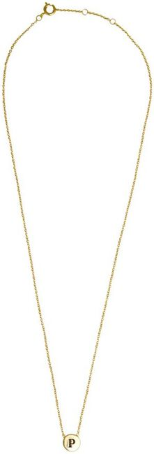 ALLTHELUCKINTHEWORLD KETTING CHARACTER NECKLACE LETTER GOLD - large