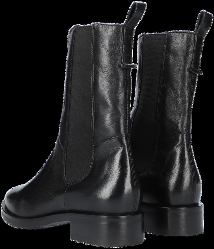 Zwarte OMODA Enkellaarsjes P22203  - larger