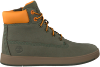 Groene TIMBERLAND Hoge sneaker DAVIS SQUARE 6 INCH KIDS  - medium